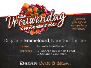 NGK Vrouwendag 2017 in Emmeloord