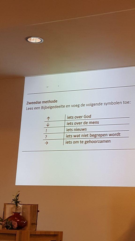 zweedse methode themazondag 15 oktober ngk ermelo