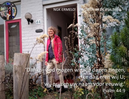 Evelien woont in psalm 44