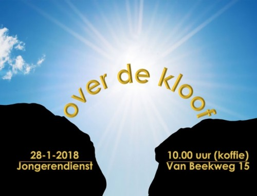 'Over de kloof' – Jongerendienst 28-1