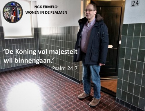 Henk woont in psalm 24