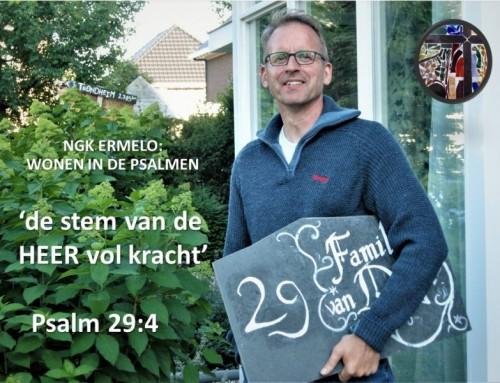 Leonard woont in Psalm 29