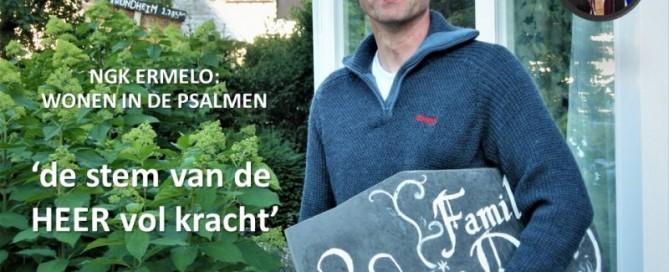 wonen in Psalm 29, nederlands gereformeerde kerk Harderwijk