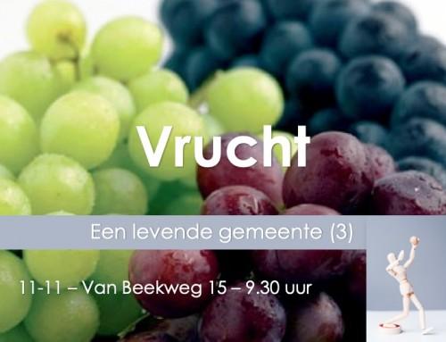 Themazondag (3): 'Vrucht'