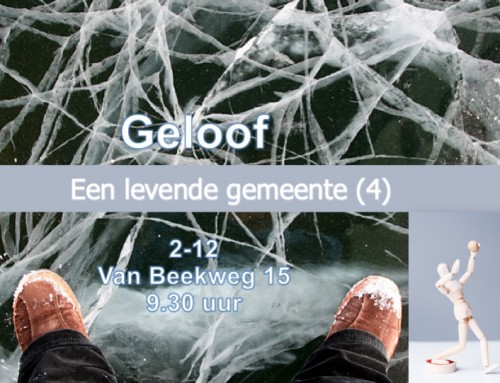 Thema (4): 'Geloof'