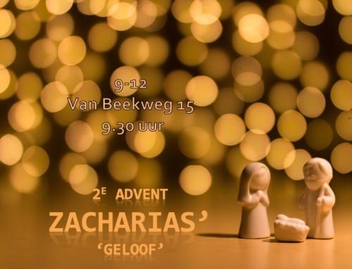 Zacharias' geloof?