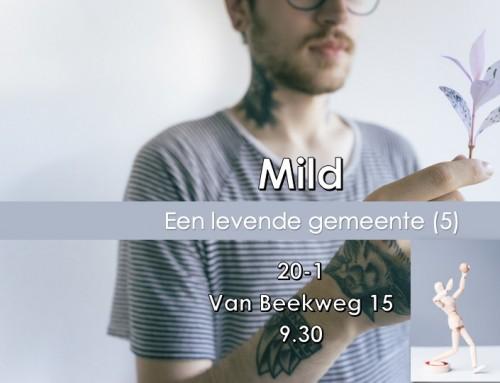 'Mild' – Themazondag
