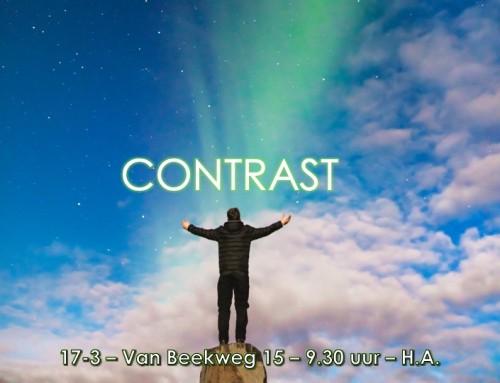 'Contrast' – Zondag 17 maart