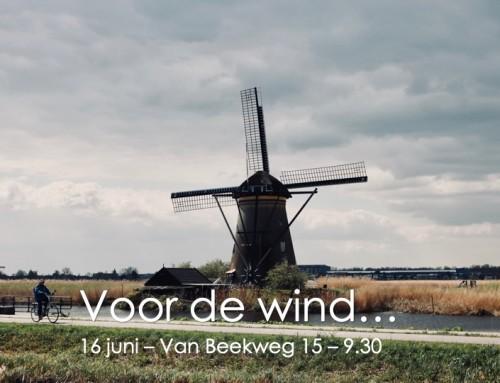 Voor de wind… 16 juni