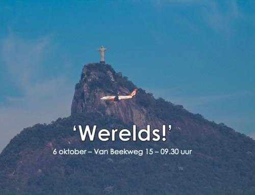 Zondag 6 oktober: 'Werelds'