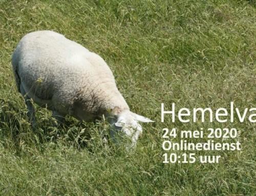 Hemelvaart & Psalm 23 – Zondag 24 mei – online