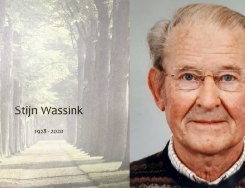 Uitvaart Stijn Wassink 1928-2020