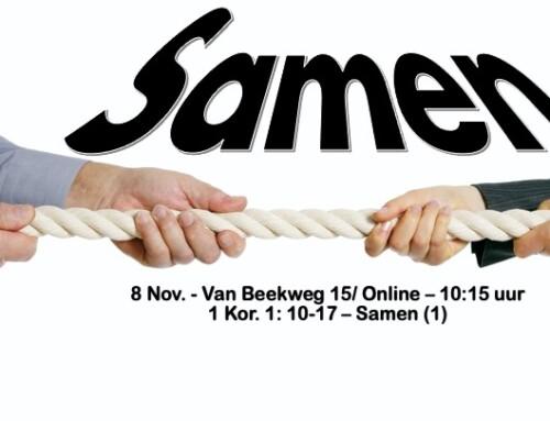 Samen – Zondag 8-11