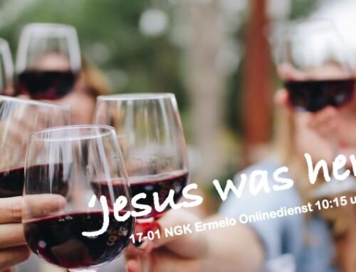 'Jesus was here!' Online