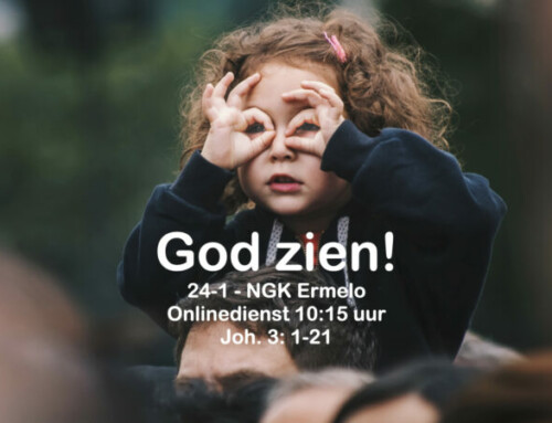 Kijk! Joh. 3 1-12