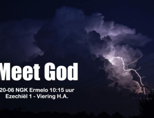 Meet God! Ezechiël 1