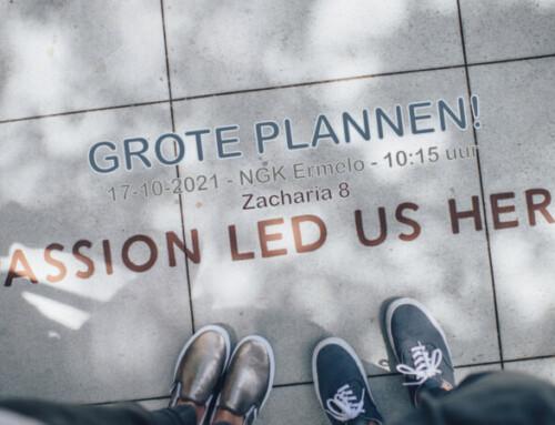 Grote plannen! Zacharia 8